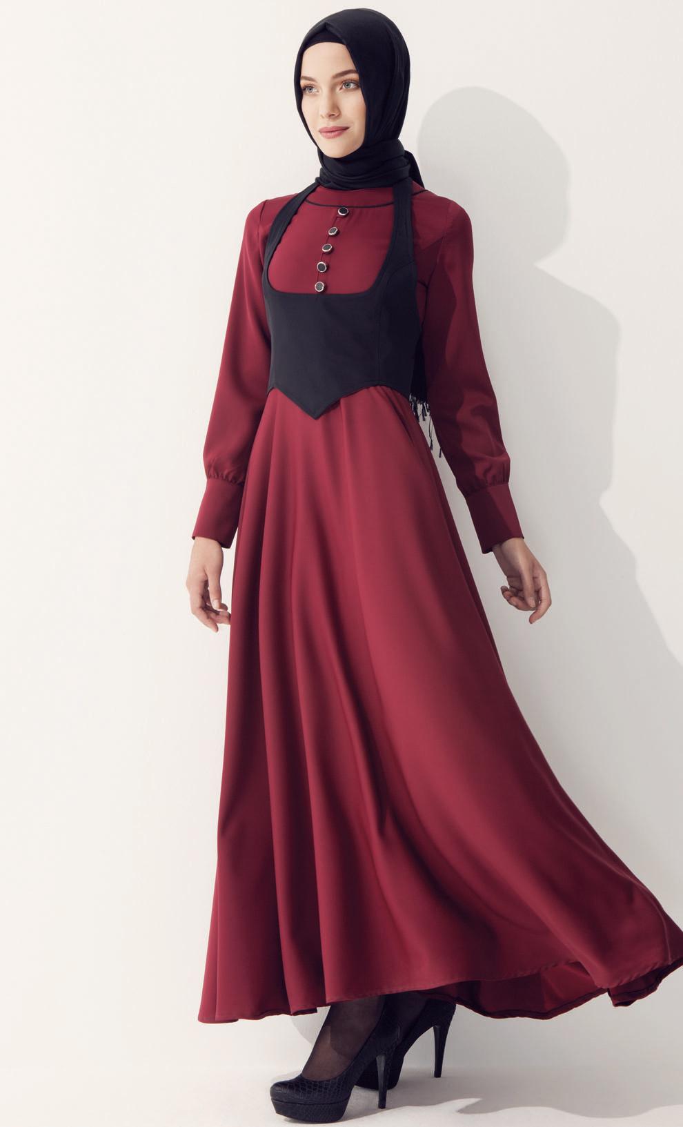 82a2bf7212327 Uzun Kollu Elbise Modellerinde Yaz Sezonu İçin Tercih Edilen Modeller  Nelerdir?